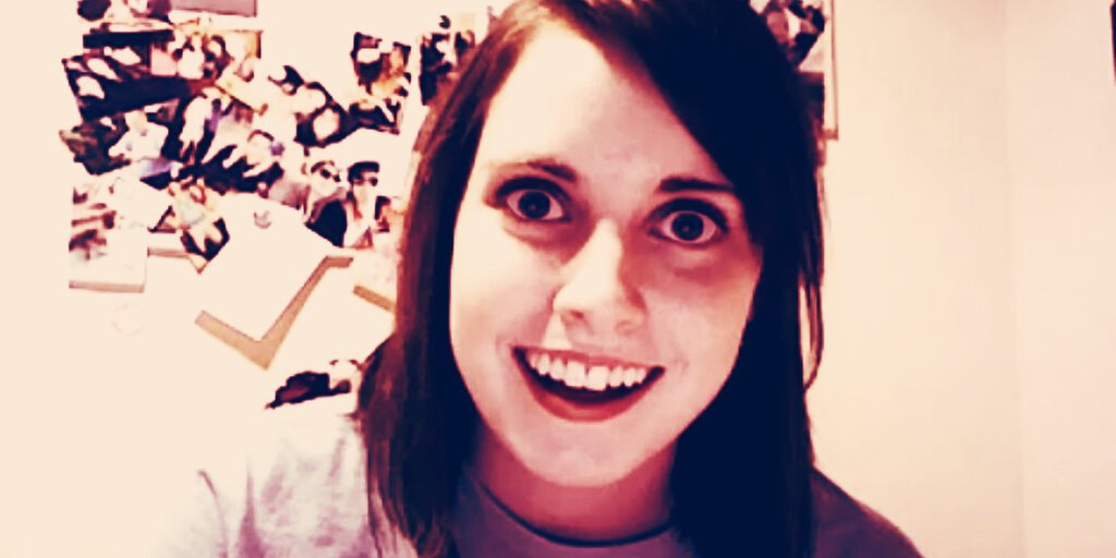 Overly Attached Girlfriend NFT Sells For $411,000