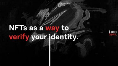 NFTs as a way to verify your identity.