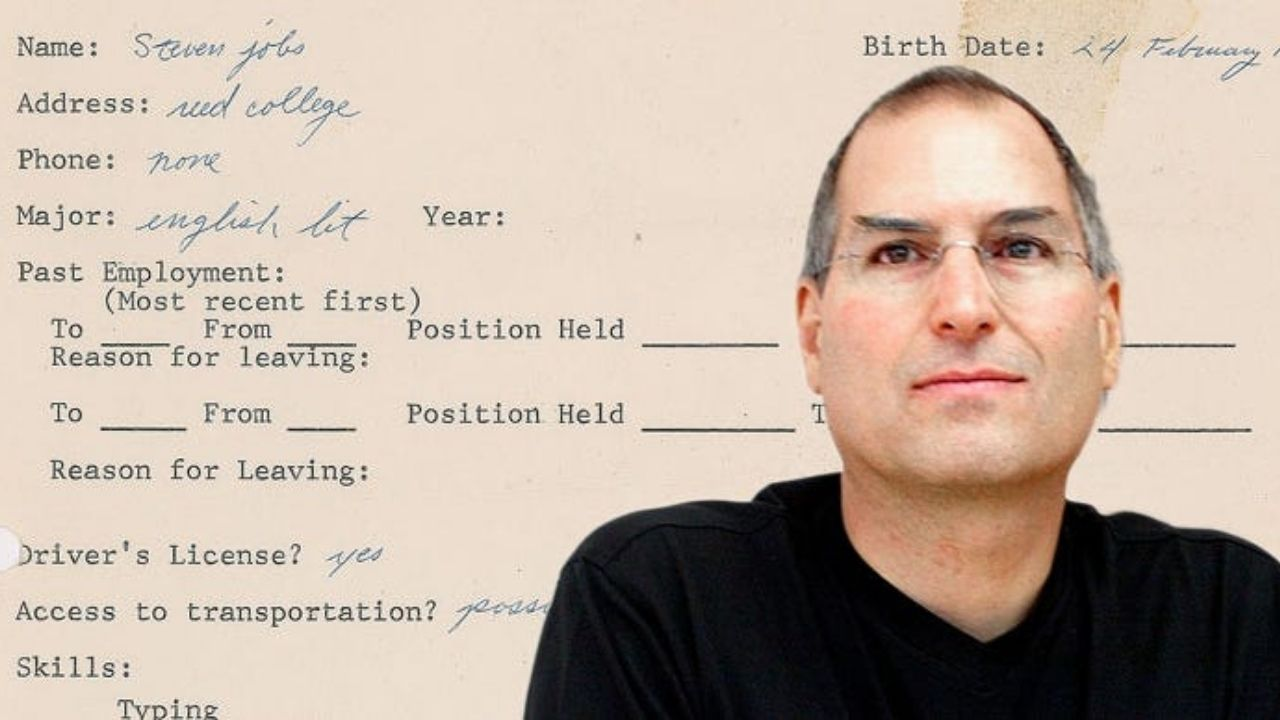 Steve Job's Physical Job Application and Mirror Copy in NFT Form to Faceoff on the Auction Block – News Bitcoin News
